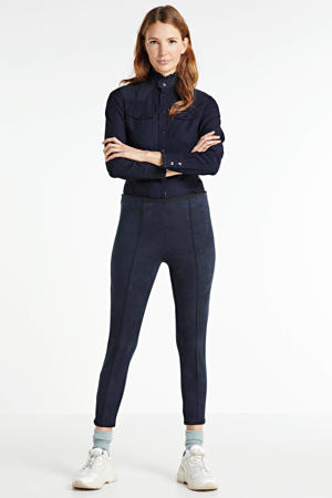 cropped broek zwart