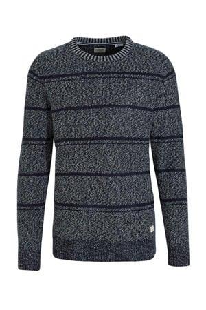 gestreepte trui Atkins donkerblauw