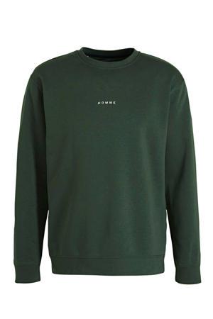 sweater grijsgroen