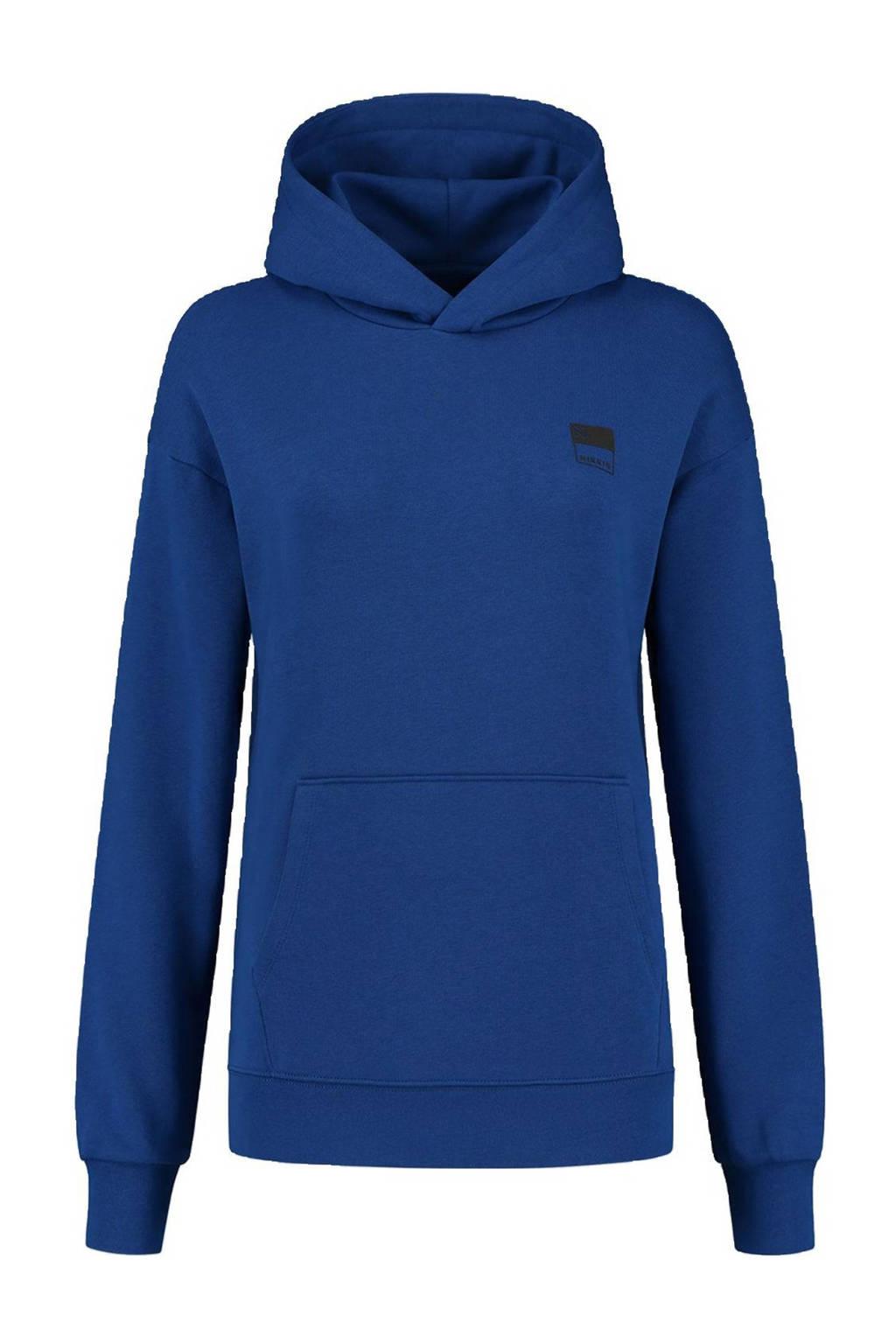 NIKKIE hoodie met printopdruk blauw, Blauw