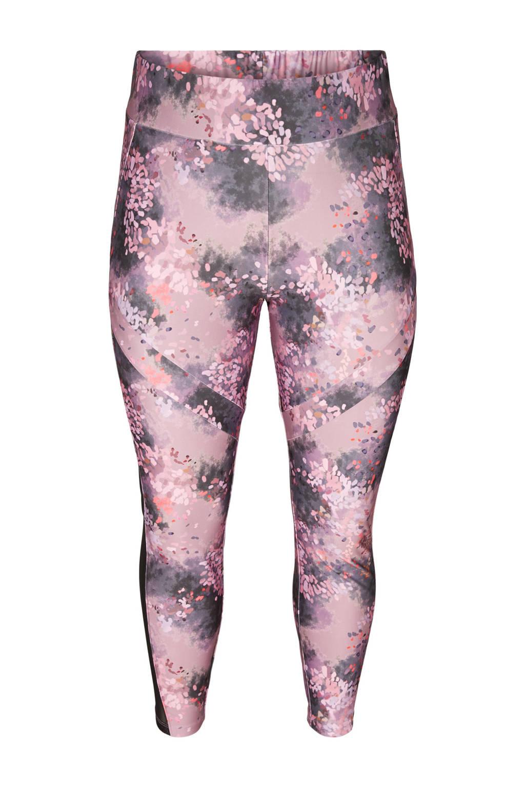 ACTIVE By Zizzi Plus Size 7/8 sportlegging roze, Roze