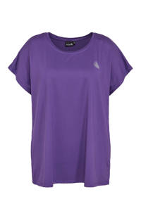 ACTIVE By Zizzi sport T-shirt paars, Paars
