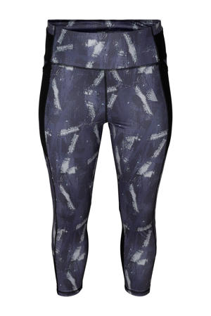 Plus Size 7/8 sportlegging Aekun paars