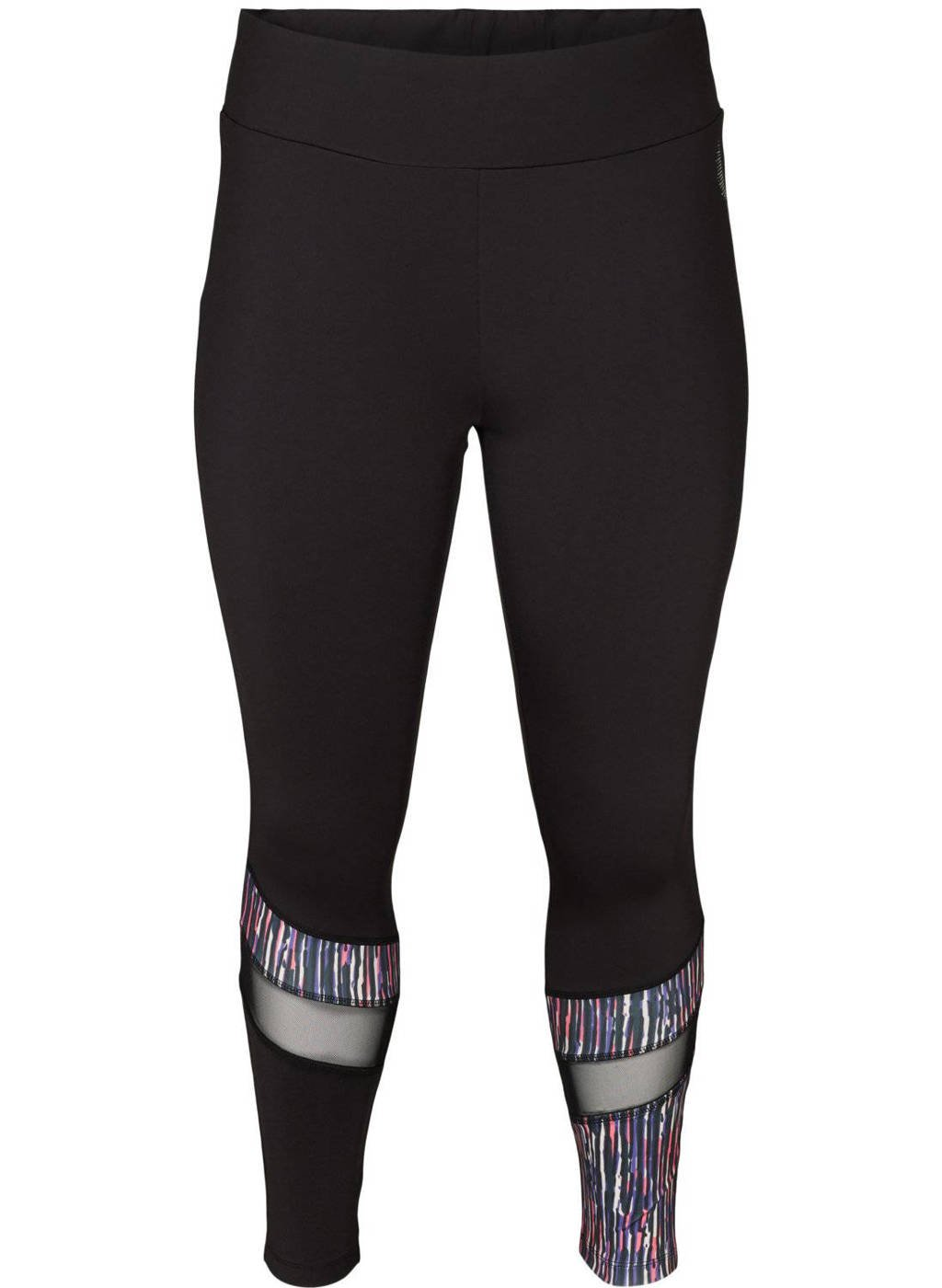 ACTIVE By Zizzi Plus Size sportlegging zwart, Zwart