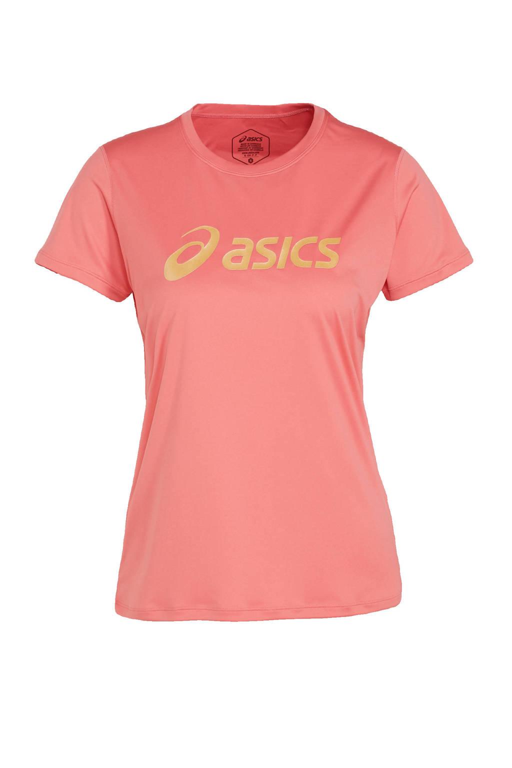 ASICS hardloopshirt lichtroze, Lichtroze
