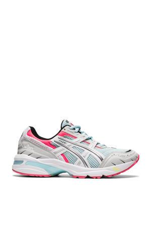 Gel-1090 Bnd sneakers lichtblauw/wit/roze