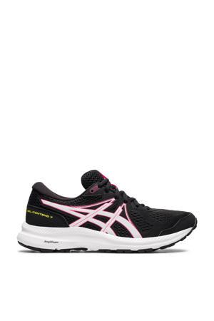 Gel-Contend 7 hardloopschoenen zwart/roze