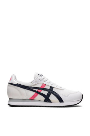 Tiger Runner  sneakers wit/donkerblauw/roze