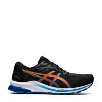 ASICS GT-1000 10 hardloopschoenen zwart/oranje/blauw, Zwart/oranje/blauw