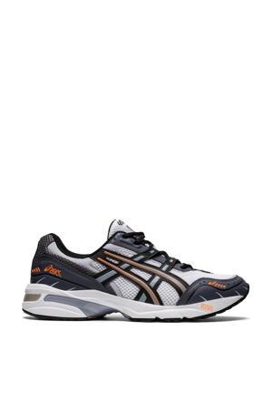 Gel-1090  hardloopschoenen wit/zwart