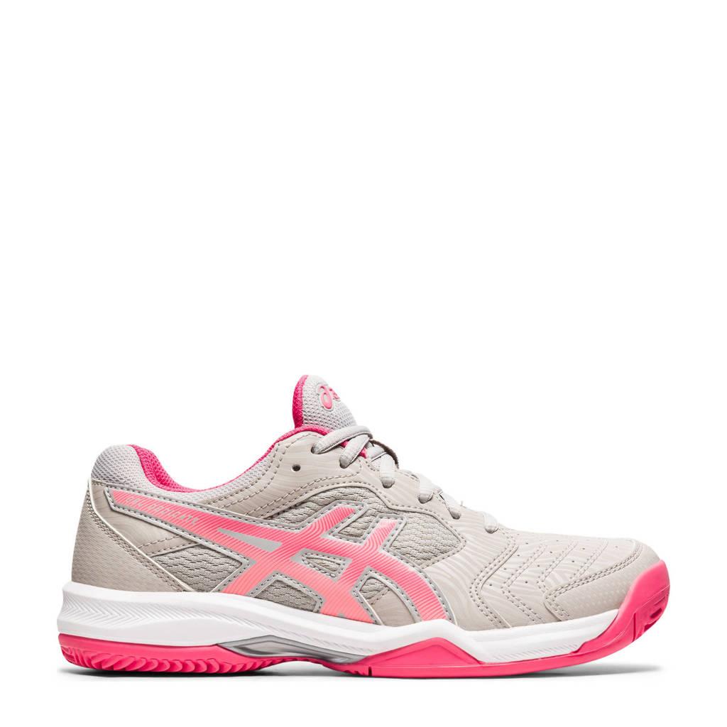 ASICS Gel-dedicate 6 Clay tennisschoenen zand/roze, Zand/roze