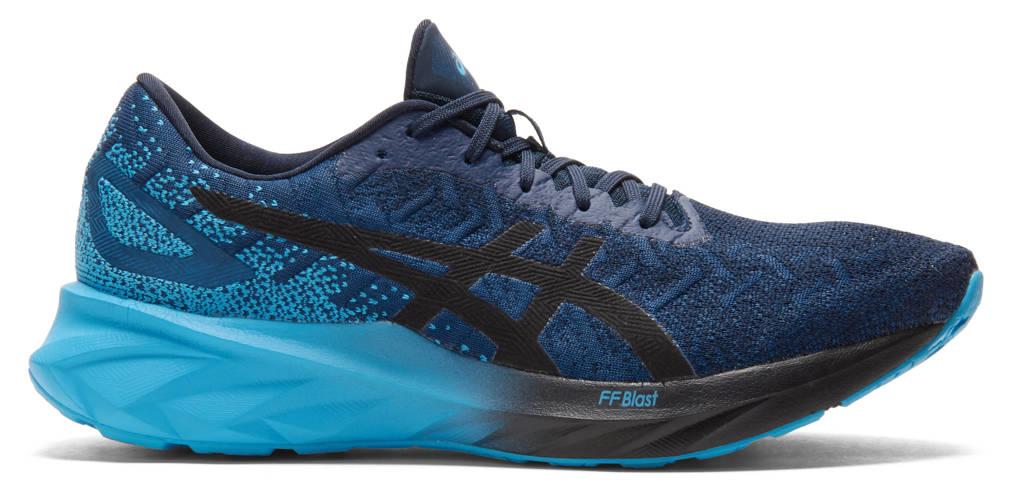 ASICS Dynablast  hardloopschoenen donkerblauw/blauw, Donkerblauw/blauw