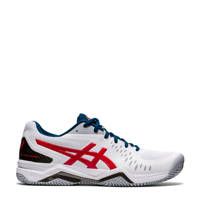 ASICS Gel-Challenger 12 Clay tennisschoenen wit/rood, Wit/rood