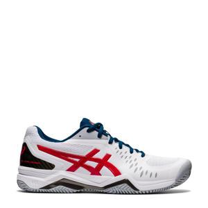 Gel-Challenger 12 Clay tennisschoenen wit/rood
