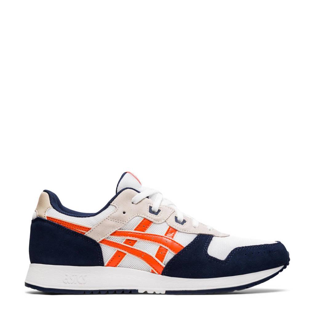 ASICS Lite Classic  sneakers wit/oranje/zwart, Wit/oranje/zwart