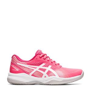 Gell- Game 8 Clays/OG tennisschoenen roze/wit
