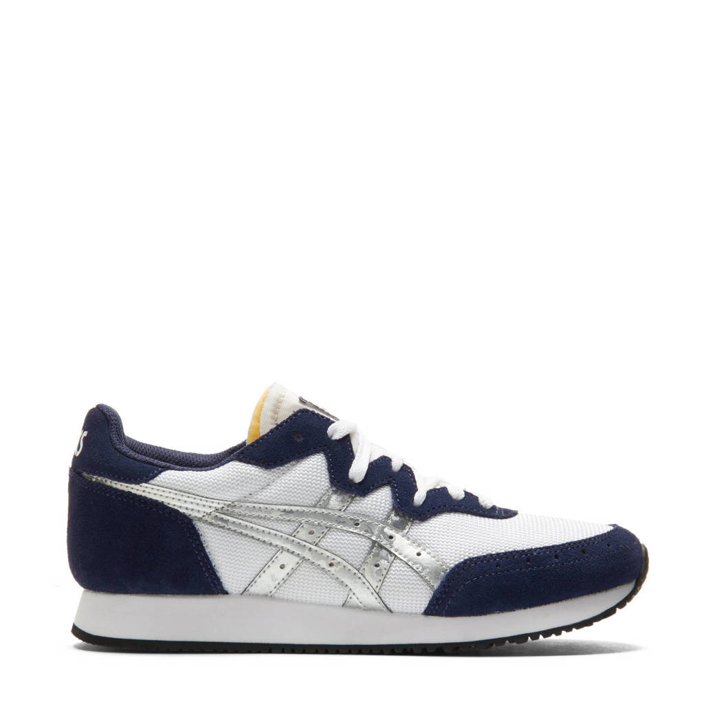ASICS Tarther  sneakers wit/donkerblauw/zilver, Wit/donkerblauw/zilver
