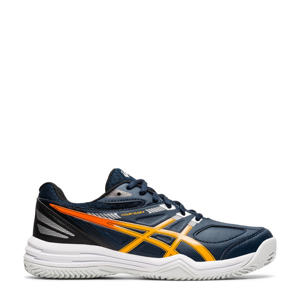 Court Slide 2 Clay tennisschoenen donkerblauw/oranje