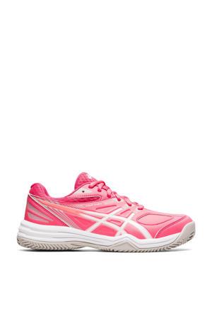 Court Slide 2 Clay tennisschoenen roze/wit