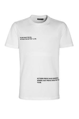 T-shirt Victor van biologisch katoen wit