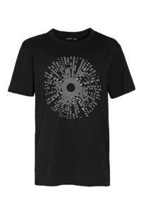 LMTD T-shirt Victor van biologisch katoen zwart, Zwart