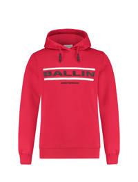 Ballin hoodie met logo rood, Rood