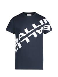 Ballin unisex T-shirt met logo donkerblauw, Donkerblauw