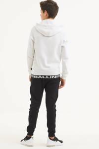 Ballin skinny broek met logo zwart, Zwart