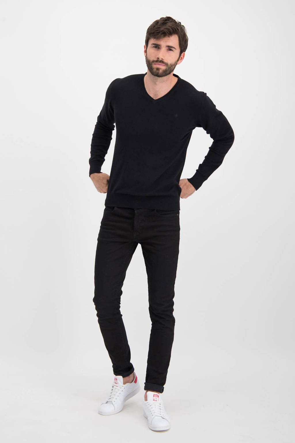 Haze & Finn trui zwart, Zwart