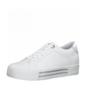 Agoea  sneakers wit/zilver