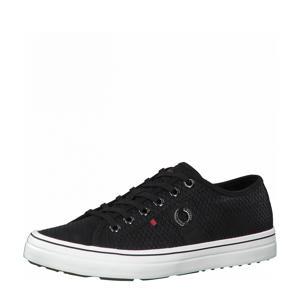 Regan  sneakers met slangenprint zwart