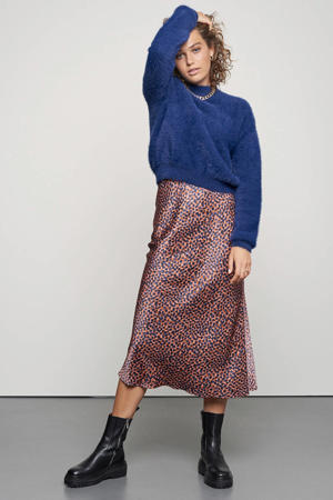 rok Blue Dots met all over print multi