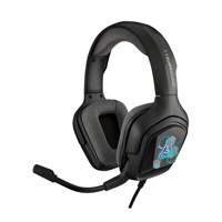 The G-Lab  Korp Cobalt 7.1 Digital RGB gaming headset, Zwart