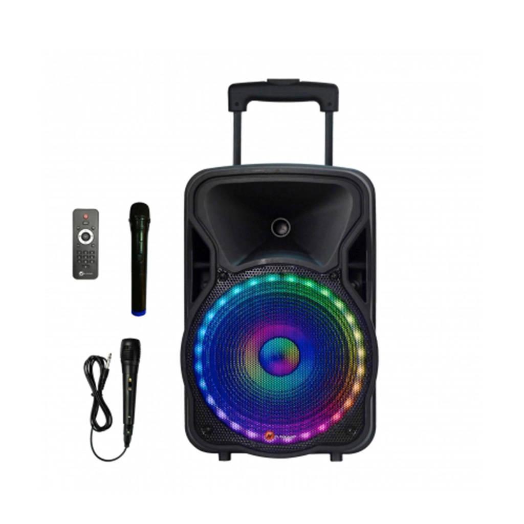 N-Gear Flash 1205 portable trolley bluetooth speaker