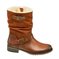 Landrover   laarzen met siergespen bruin, Bruin
