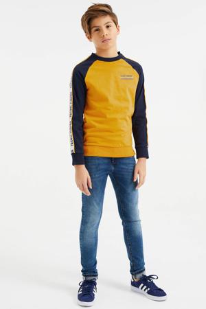 longsleeve geel/zwart