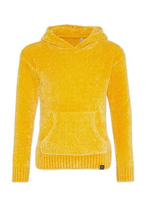 hoodie geel