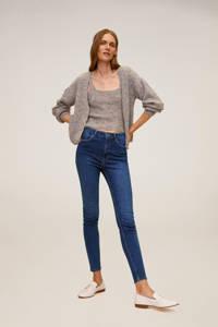 Mango high waist skinny jeans changeant blauw