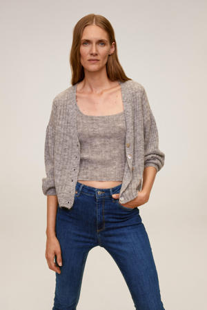 high waist skinny jeans changeant blauw