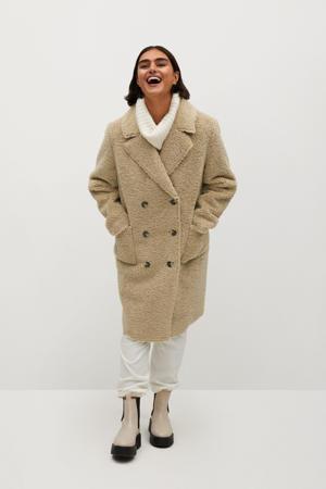 coat lichtbeige