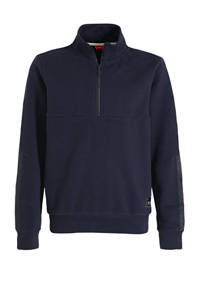 s.Oliver gemêleerde sweater donkerblauw, Donkerblauw