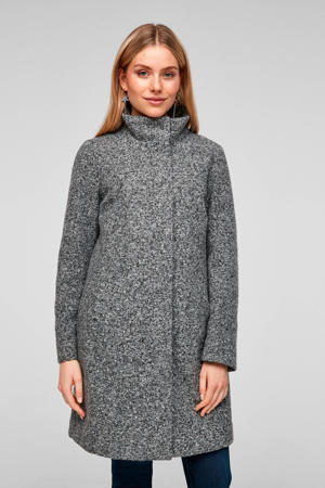 gemêleerde  coat tussen grijs melange