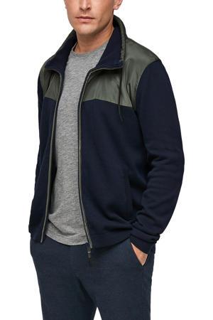 vest marine/groen
