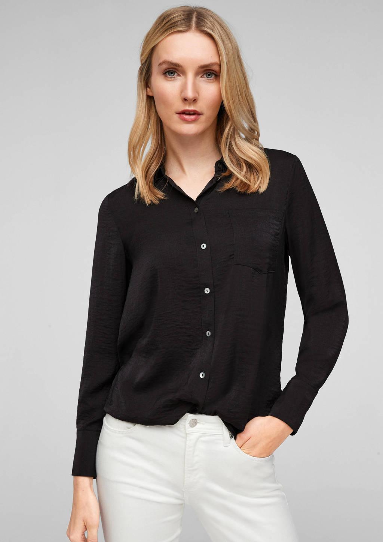 s.Oliver blouse zwart, Zwart