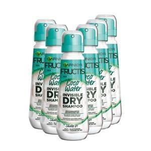 Invisible Dry Shampoo Coco - 6x 100 ml