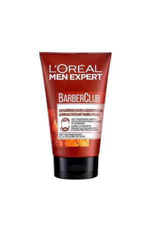 BarberClub Exfoliërende baard & gezichtsscrub - 100 ml