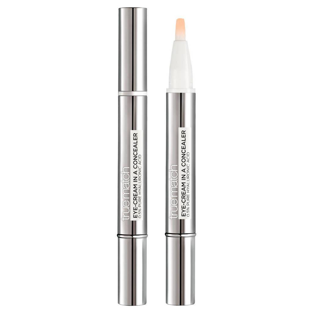 L'Oréal Paris True Match Touche Magique concealer en oogcrème in 1 - DW1-2 Ivory Beige