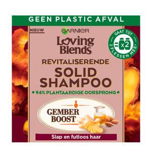 Loving Blends Gember shampoo bar - 60 gram