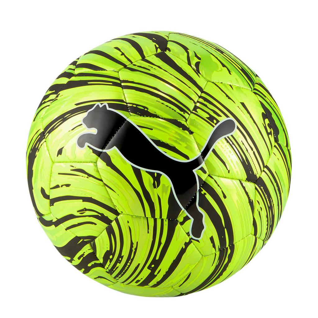 Puma   Shock voetbal geel/zwart maat 5, Geel/zwart