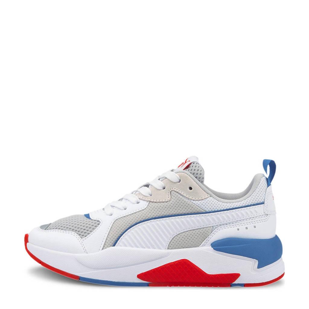 Puma X-Ray Jr sneakers wit/grijs/rood/kobaltblauw